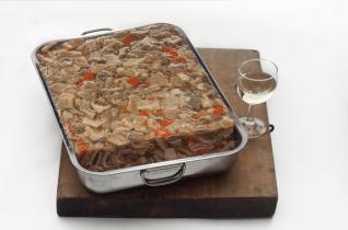 Tripes cuisinées au Muscadet