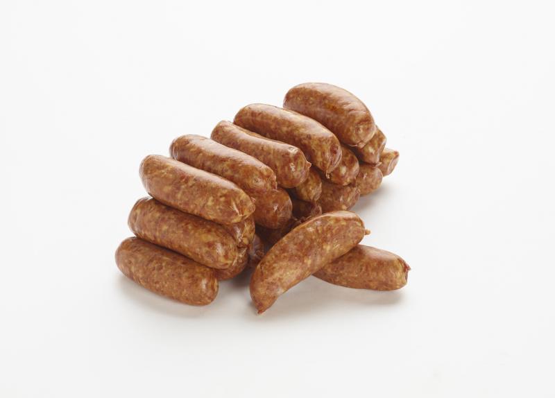 Mini saucisses fumées