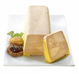 Bloc de foie gras mi-cuit