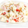 Salade trio de chou comté et jambon fumé