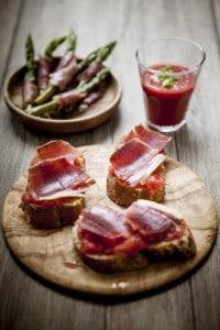 charcuterie espagnole, jambon serrano, tapas,