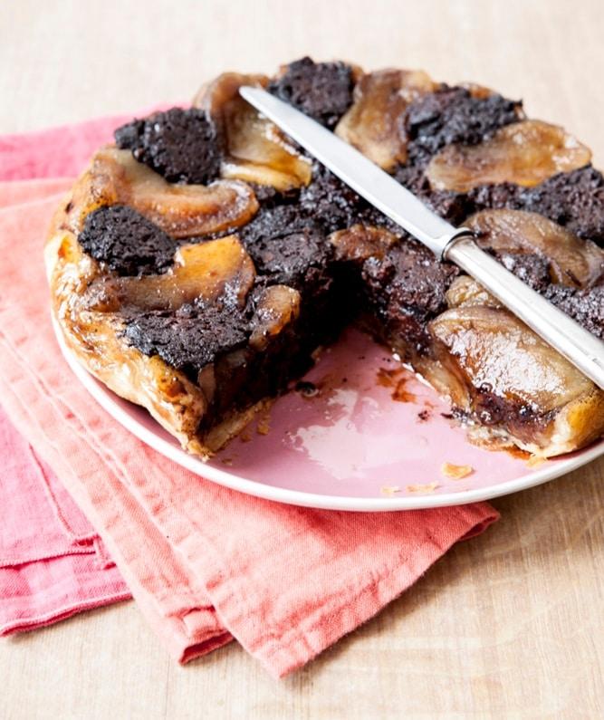 recette tarte tatin boudin noir à l'ancienne